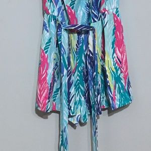 aa10a056f17 Lilly Pulitzer Pants - Lilly Pulitzer Light As a Feather Ritz Romper